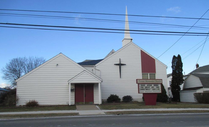 picture of Tyrone Mennonite Church